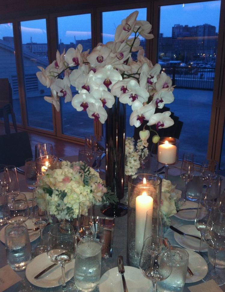 Wedding Centerpiece - Cymbidium Orchids