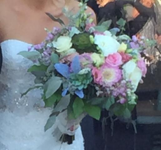 Modern Bridal Bouquet