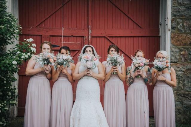 Pastel wedding, country wedding