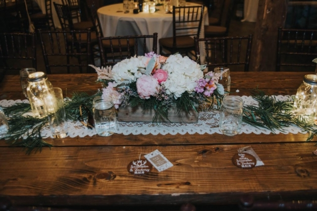 tablescape, wedding placesetting