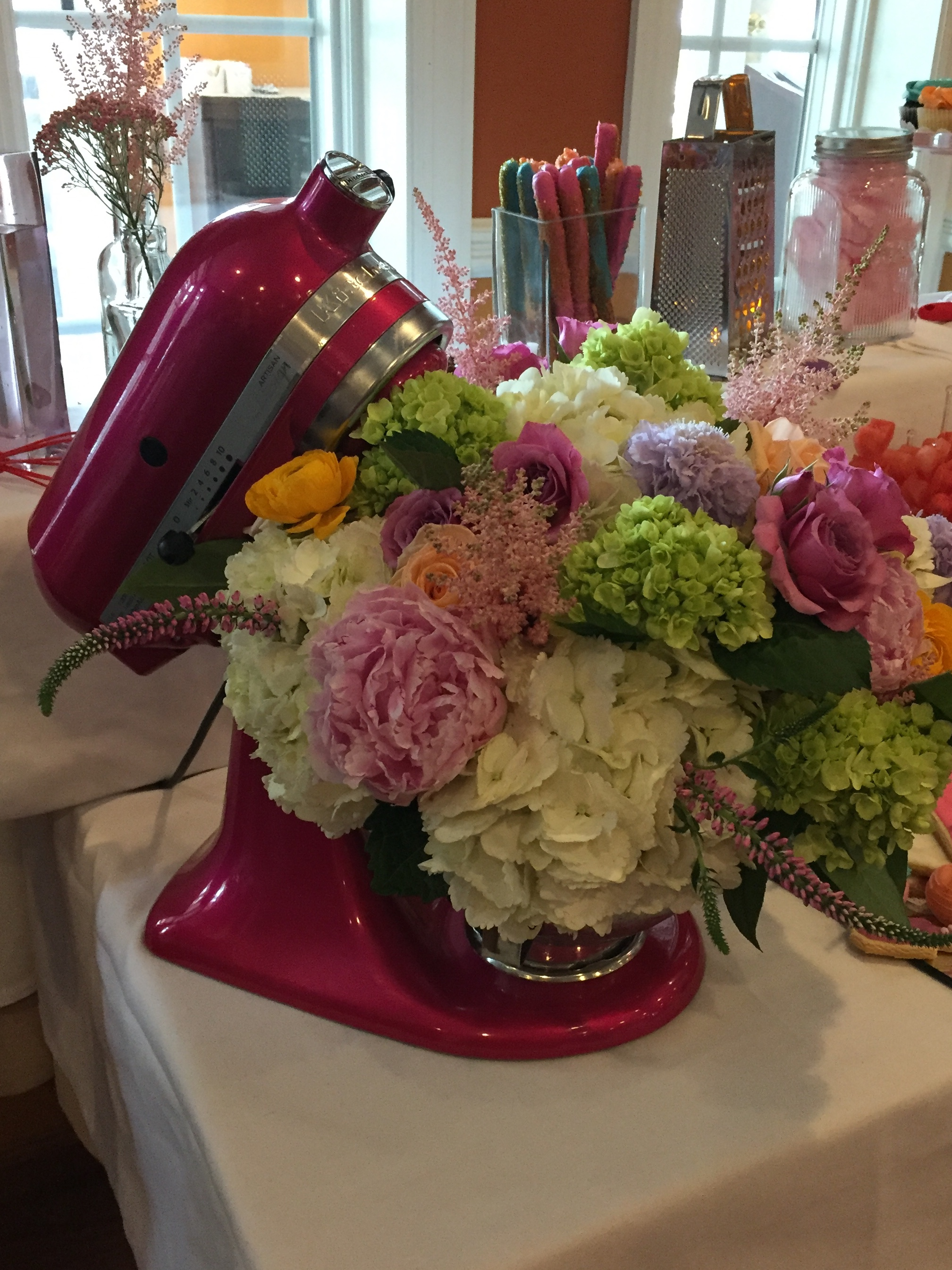 Custom Arrangement for a Bridal Shower